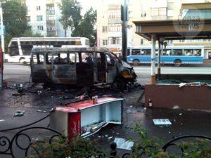 пенза авария сгорела маршрутка