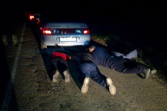 Инспекторами ДПС города Ростова были задержаны трое граждан